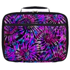 Purple Tie Dye Madness  Full Print Lunch Bag