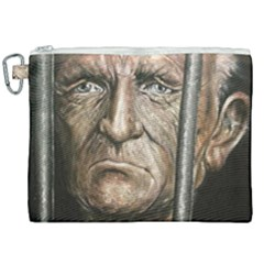 Old Man Imprisoned Canvas Cosmetic Bag (xxl) by redmaidenart