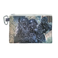 More Pepper Canvas Cosmetic Bag (large) by redmaidenart