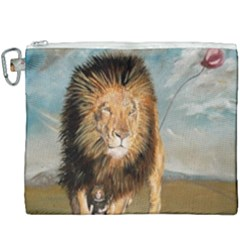 The Journey Canvas Cosmetic Bag (xxxl) by redmaidenart