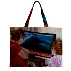 Breaking News Zipper Mini Tote Bag by redmaidenart