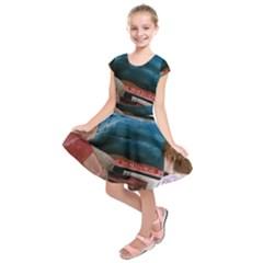 Breaking News Kids  Short Sleeve Dress