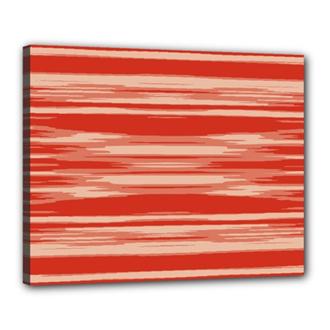 Abstract Linear Minimal Pattern Canvas 20  X 16  by dflcprints