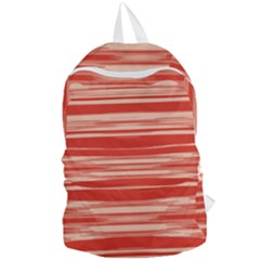 Abstract Linear Minimal Pattern Foldable Lightweight Backpack by dflcprints