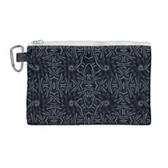 Dark Ethnic Sharp Pattern Canvas Cosmetic Bag (large) by dflcprints