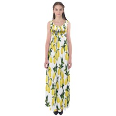 Lemons Empire Waist Maxi Dress