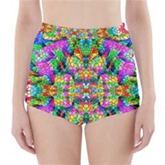 Pattern 854 High Waisted Bikini Bottoms