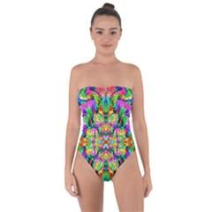 Pattern 854 Tie Back One Piece Swimsuit