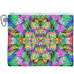 Pattern 854 Canvas Cosmetic Bag (xxxl) by ArtworkByPatrick