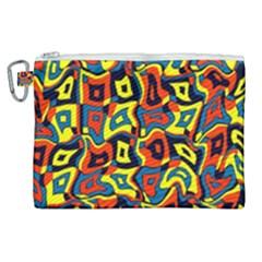 Pattern 3 Canvas Cosmetic Bag (xl) by ArtworkByPatrick
