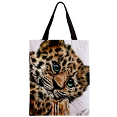 Jaguar Cub Classic Tote Bag by ArtByThree