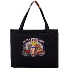 Route 66 Mini Tote Bag by ArtworkByPatrick