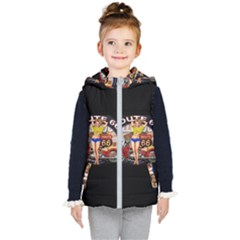 Route 66 Kid s Puffer Vest by ArtworkByPatrick