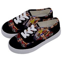 Route 66 Kids  Classic Low Top Sneakers by ArtworkByPatrick