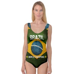 Football World Cup Princess Tank Leotard  by Valentinaart