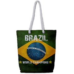 Football World Cup Full Print Rope Handle Tote (small) by Valentinaart