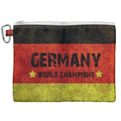 Football World Cup Canvas Cosmetic Bag (xxl) by Valentinaart