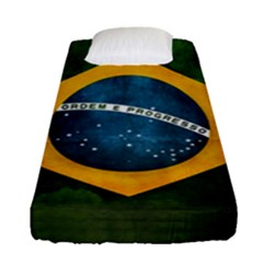 Football World Cup Fitted Sheet (single Size) by Valentinaart