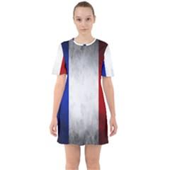 Football World Cup Sixties Short Sleeve Mini Dress