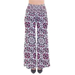 Boho Bold Vibrant Ornate Pattern Pants by dflcprints