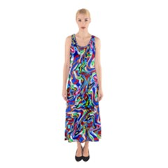 Pattern 10 Sleeveless Maxi Dress