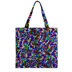 Pattern 10 Grocery Tote Bag