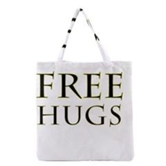 Freehugs Grocery Tote Bag by cypryanus