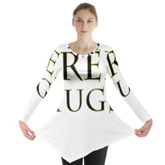 Freehugs Long Sleeve Tunic  by cypryanus