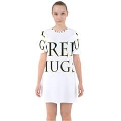 Freehugs Sixties Short Sleeve Mini Dress