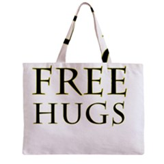 Freehugs Zipper Mini Tote Bag by cypryanus