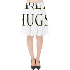 Freehugs Velvet High Waist Skirt by cypryanus