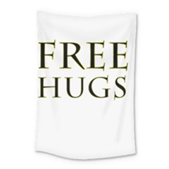 Freehugs Small Tapestry by cypryanus