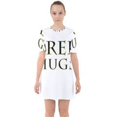 Freehugs Sixties Short Sleeve Mini Dress
