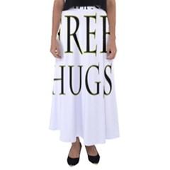 Freehugs Flared Maxi Skirt by cypryanus