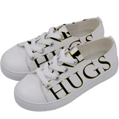 Freehugs Kids  Low Top Canvas Sneakers by cypryanus