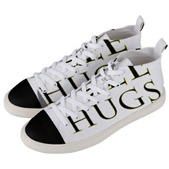 Freehugs Men s Mid Top Canvas Sneakers by cypryanus