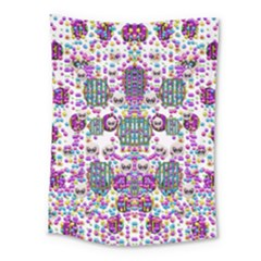 Alien Sweet As Candy Medium Tapestry by pepitasart