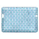 BRICK1 WHITE MARBLE & TURQUOISE COLORED PENCIL (R) Kindle Fire HDX Hardshell Case View1