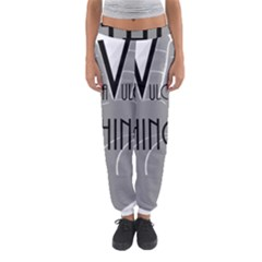 It s A Vulcan Thing Women s Jogger Sweatpants by Howtobead
