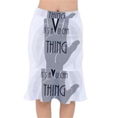 It s A Vulcan Thing Mermaid Skirt by Howtobead
