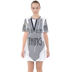 It s A Vulcan Thing Sixties Short Sleeve Mini Dress