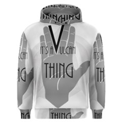 Vulcan Thing Men s Overhead Hoodie by Howtobead