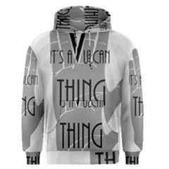 Vulcan Thing Men s Pullover Hoodie by Howtobead