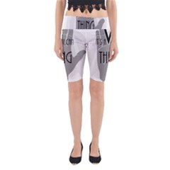 Vulcan Thing Yoga Cropped Leggings by Howtobead