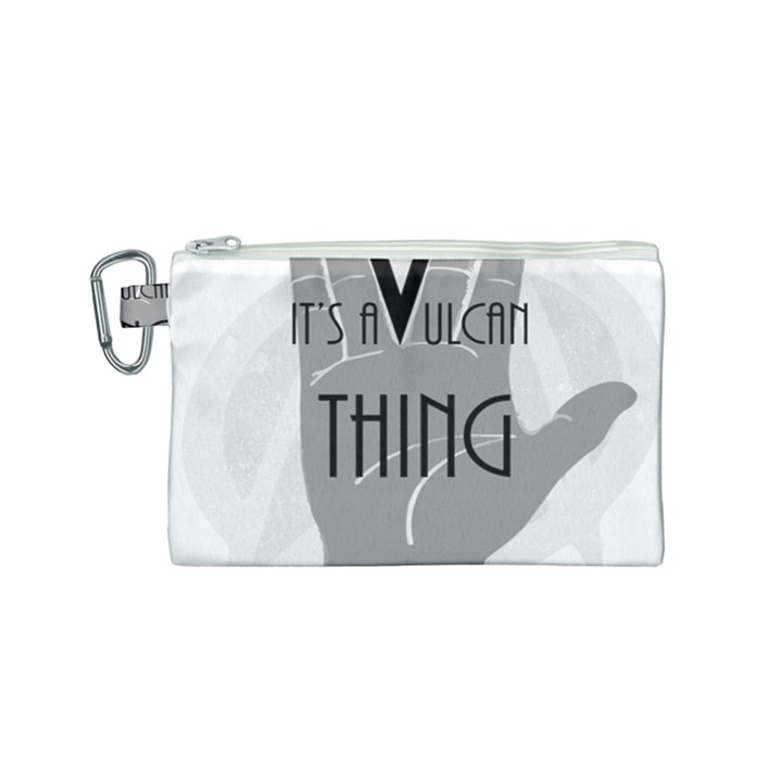 Vulcan Thing Canvas Cosmetic Bag (Small)