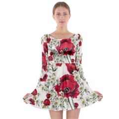 Poppy Long Sleeve Skater Dress