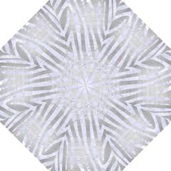 Skin4 White Marble & Silver Brushed Metal (r) Straight Umbrellas by trendistuff