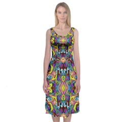 Pattern 12 Midi Sleeveless Dress