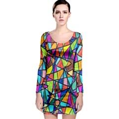 Pattern 13 Long Sleeve Bodycon Dress