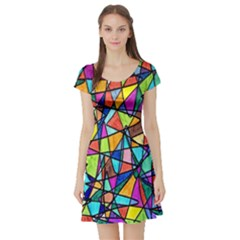 Pattern 13 Short Sleeve Skater Dress